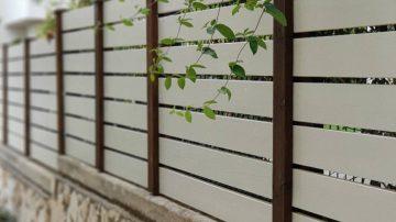 גדרות עץ מעוצבות