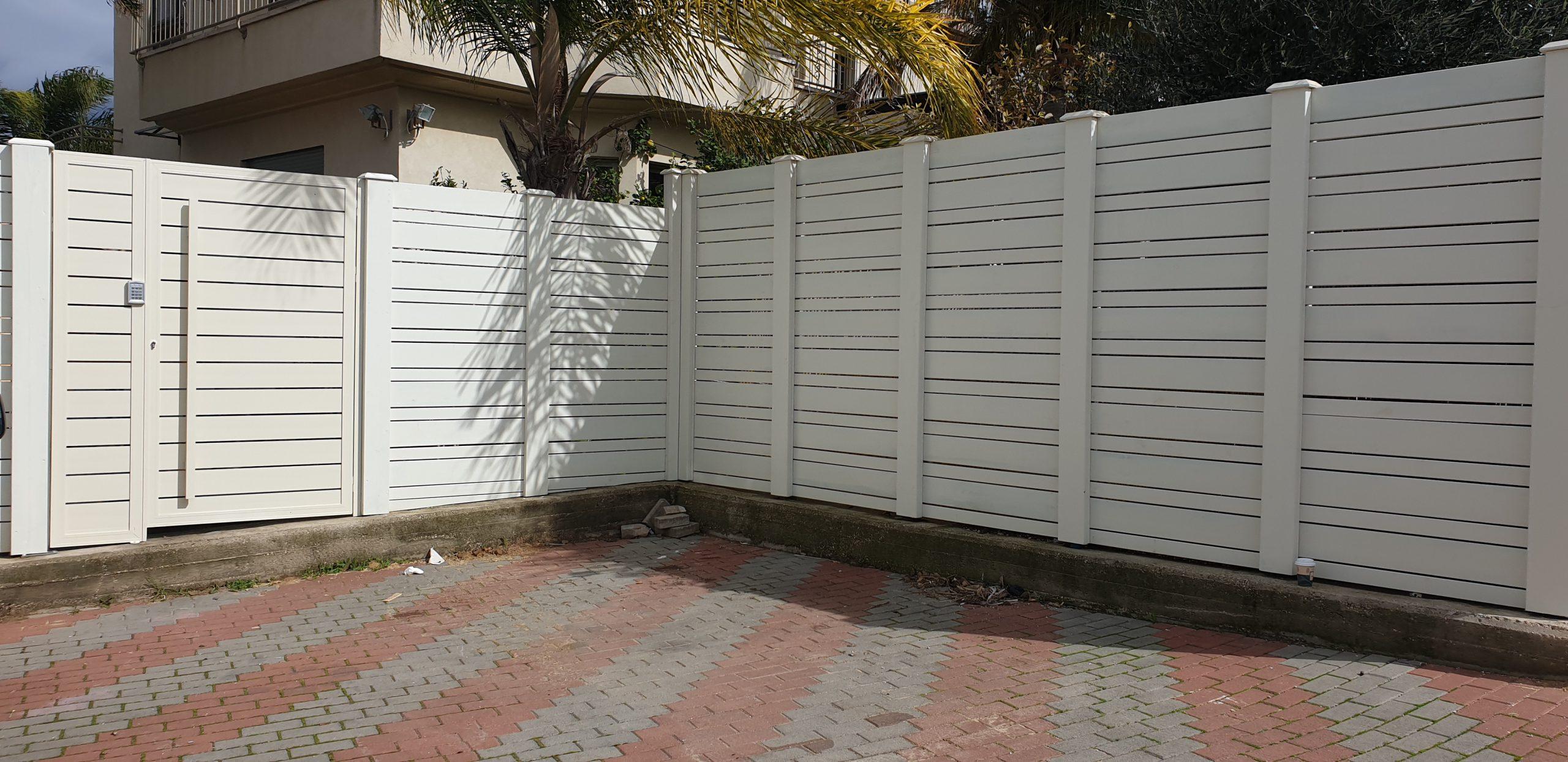 פרויקט גדר ושער